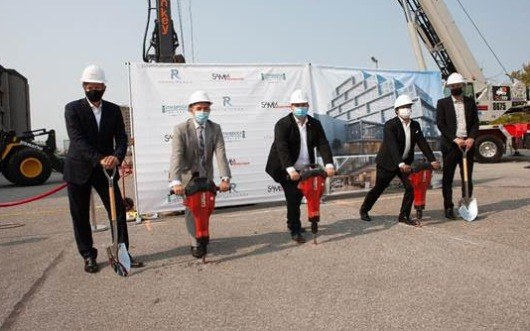Regal Plaza with Staybridge Suites hotel breaks ground