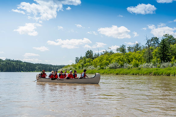 Paddle into the past with Metis Crossing