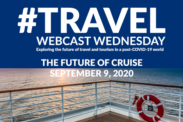 Set Sail With #TravelWebcast Wednesday