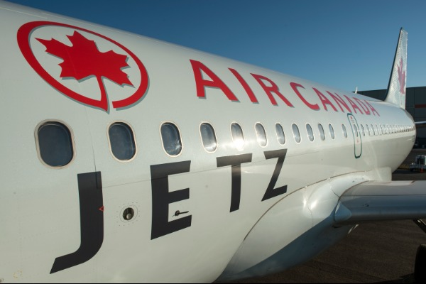 Air Canada Using Jetz Fleet On Select Winter Routes
