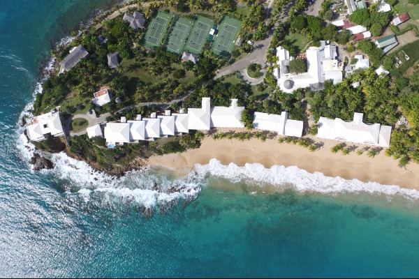 Call Antigua's Curtain Bluff Home