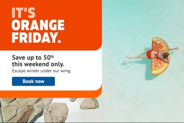 Sunwing Takes Off With Orange Friday Sale