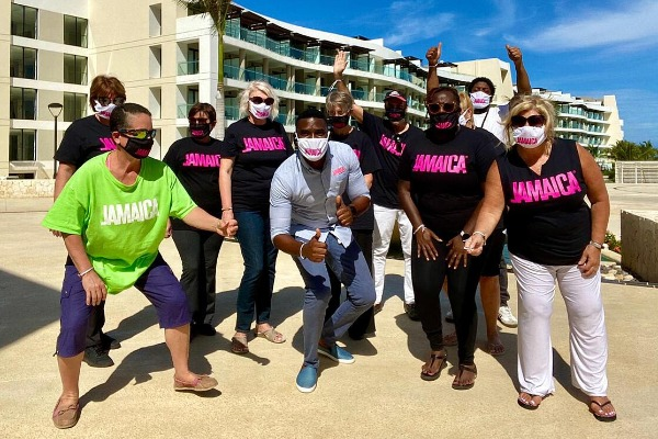 Agents Reconnect With Jamaica On Fam