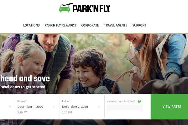 Park'N Fly Launches New Website