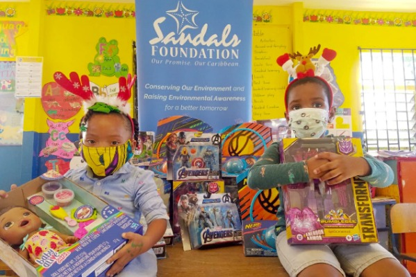 Sandals Foundation, Hasbro Safely Team Up To Cheer Up