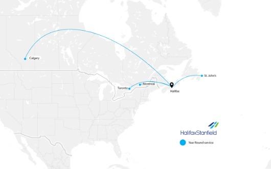 2020 Passenger Traffic at Halifax Stanfield Hit 50-Year Low
