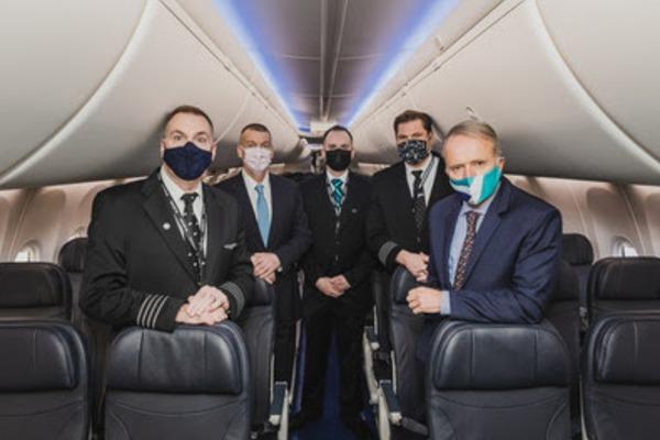 WestJet Celebrates Return Of The 737 MAX