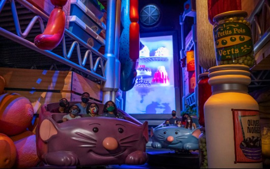 Grand Opening of Remy's Ratatouille Adventure at EPCOT Set for Oct. 1