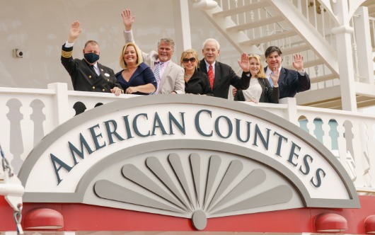 AQSC Christens The American Countess