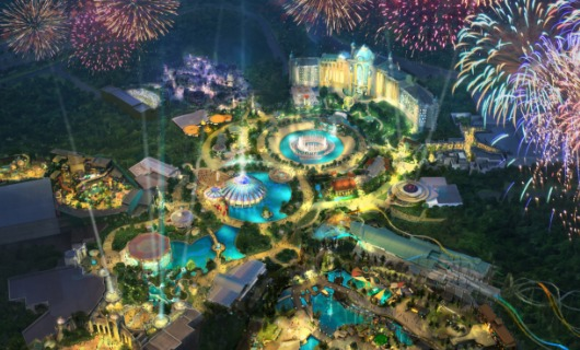 Work Resumes At Universal's Fourth Orlando Theme Park