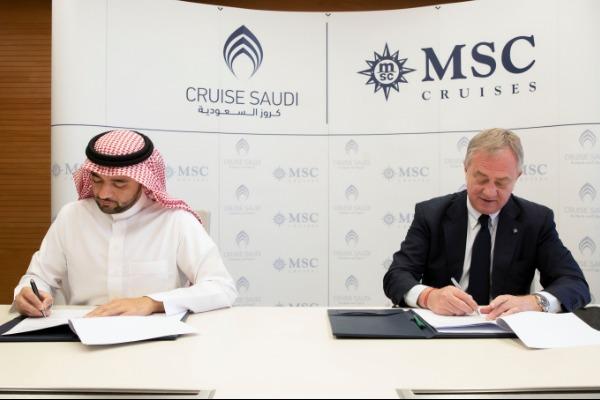MSC, Cruise Saudi Sign Landmark Deal