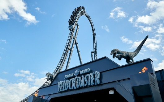 Jurassic World Velocicoaster Opens In June