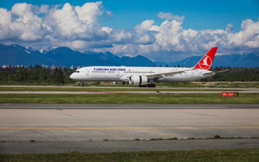 Turkish Airlines Adds Vancouver