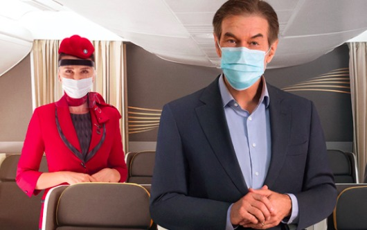 Turkish Airlines Takes Off With Dr. Oz