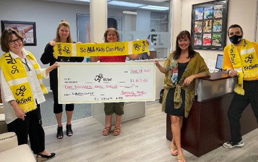 Personal Travel Management's carwash raises money for good cause