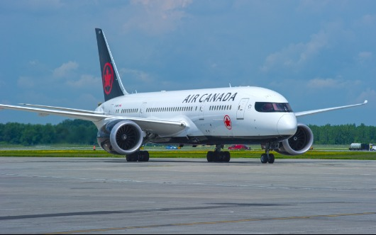 Air Canada Takes Off To Dublin