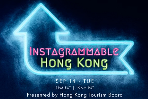 Register Now for Instagrammable Hong Kong