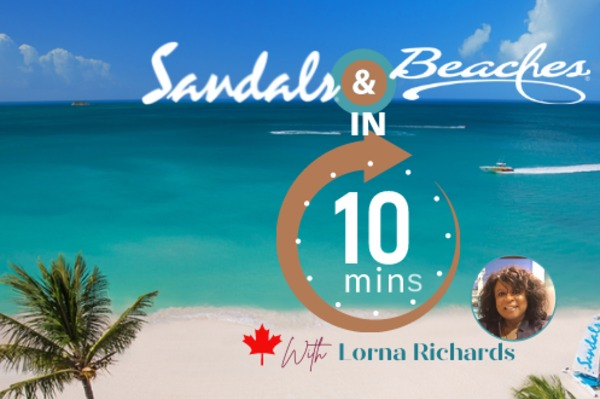 Canadian Agents Invited To Take 10 With Sandals