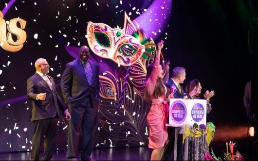 Mardi Gras Christened At 'Universe Of Fun' Event