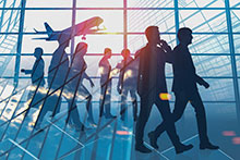 Business travellers' confidence grows